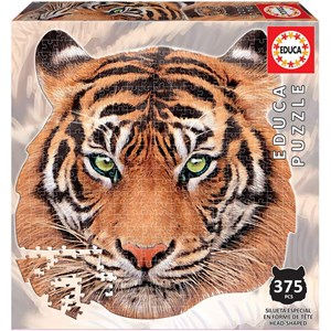 """Educa (18475) - """"Tiger Face"""" - 375 piezas"""