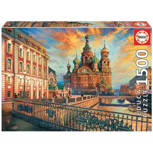 "Educa (18501) - ""Saint Petersburg"" - 1500 piezas"