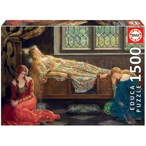 "Educa (18464) - John Collier: ""The Sleeping Beauty"" - 1500 piezas"