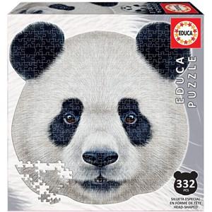 """Educa (18476) - """"Panda Face"""" - 353 piezas"""