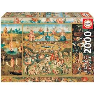 """Educa (18505) - Hieronymus Bosch: """"El jardín de las delicias"""" - 2000 piezas"""