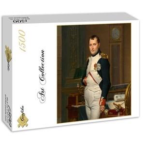 "Grafika (01191) - Jacques-Louis David: ""The Emperor Napoleon in his study at the Tuileries, 1812"" - 1500 piezas"
