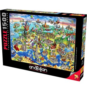 "Anatolian (4557) - Maria Rabinsky: ""European World"" - 1500 piezas"