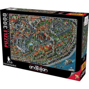 "Anatolian (4913) - Tarik Tolunay: ""Fractal Istanbul"" - 3000 piezas"