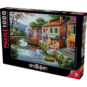 "Anatolian (1053) - Sung Kim: ""Quaint Village Shops"" - 1000 piezas"