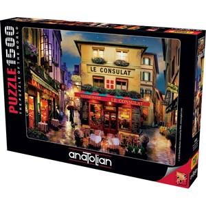 "Anatolian (4552) - David McLean: ""Meet Me in Paris"" - 1500 piezas"