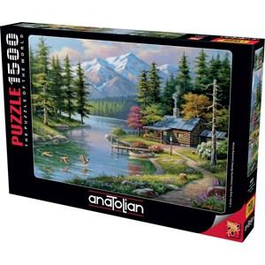 "Anatolian (4554) - Sung Kim: ""Resting Canoe"" - 1500 piezas"