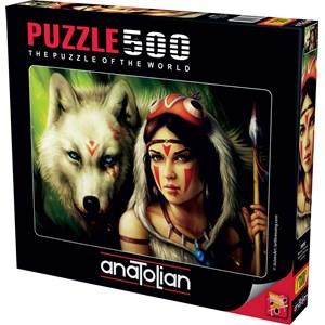 """Anatolian (3600) - """"Warrior Princess"""" - 500 piezas"""