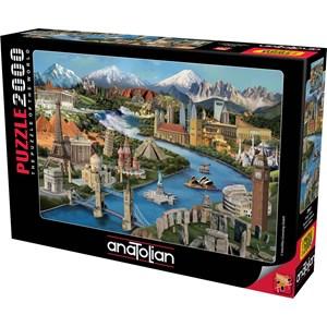"Anatolian (3941) - Daniela Pirola: ""Popular Landmarks"" - 2000 piezas"