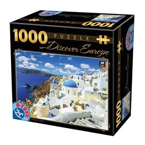 "D-Toys (74874) - ""Santorini"" - 1000 piezas"