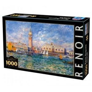 """D-Toys (74911) - Pierre-Auguste Renoir: """"The Doge's Palace, Venice"""" - 1000 piezas"""