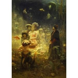 "King International (73839) - Ilya Repin: ""Sadko in the Underwater Kingdom, 1876"" - 1000 piezas"