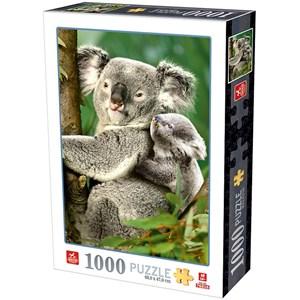 "D-Toys (76816) - ""Koala Bears"" - 1000 piezas"