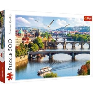 """Trefl (37382) - """"Prague"""" - 500 piezas"""