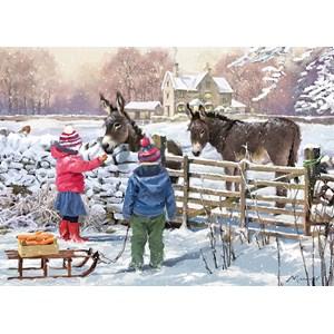 "Otter House Puzzle (73571) - The MacNeil Studio: ""Little Donkey"" - 1000 piezas"