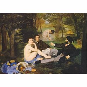 "D-Toys (76458) - Edouard Manet: ""Breakfast on the Grass"" - 1000 piezas"
