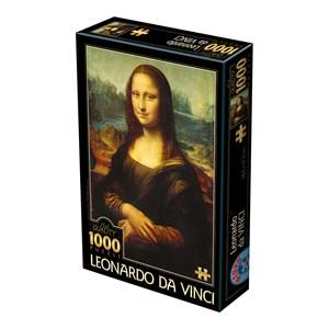 """D-Toys (72689) - Leonardo Da Vinci: """"Mona Lisa"""" - 1000 piezas"""
