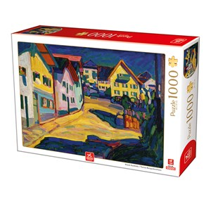 "Deico (76755) - Vassily Kandinsky: ""Murnau Burggrabenstrasse"" - 1000 piezas"