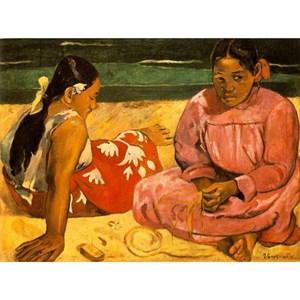 "D-Toys (76465) - Paul Gauguin: ""Tahitian Women on the Beach"" - 1000 piezas"