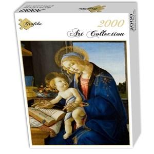 "Grafika (01284) - Sandro Botticelli: ""The Madonna of the Book, 1480"" - 2000 piezas"