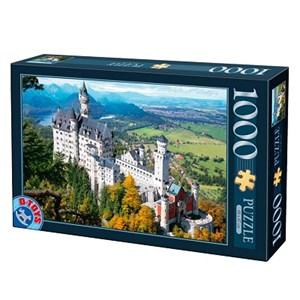 "D-Toys (70654) - ""Neuschwanstein Castle, Germany"" - 1000 piezas"