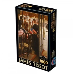 "D-Toys (75086) - James Tissot: ""The Shop Girl"" - 1000 piezas"