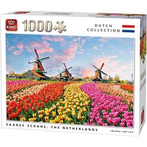 """King International (05722) - """"Zaanse Schans, The Nederlands"""" - 1000 piezas"""