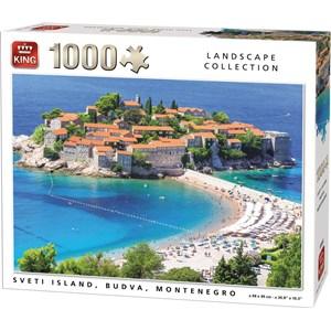 "King International (55950) - ""Sveti Island, Budva, Montenegro"" - 1000 piezas"