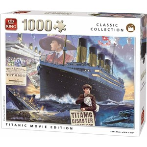 "King International (55933) - ""Titanic Movie Edition"" - 1000 piezas"