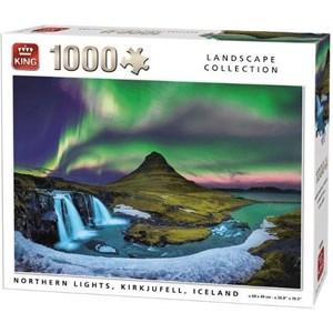 "King International (55938) - ""Northern Lights, Kirkjufell, Iceland"" - 1000 piezas"