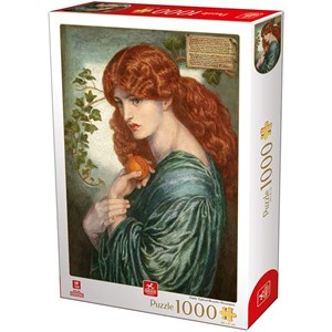 "Deico (76717) - Dante Gabriel Rossetti: ""Proserpine"" - 1000 piezas"