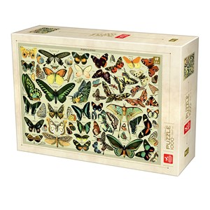 "Deico (76786) - ""Encyclopedia Butterflies"" - 1000 piezas"