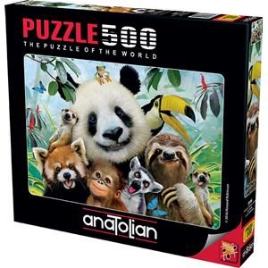 """Anatolian (3596) - """"Zoo Selfie"""" - 500 piezas"""