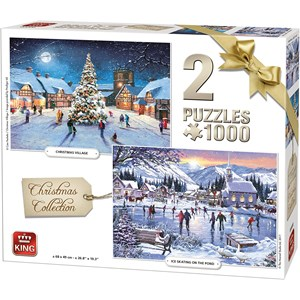 "King International (05217) - ""Christmas Collection"" - 1000 piezas"