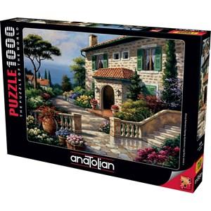 """Anatolian (1076) - Sung Kim: """"Villa Delle Fontana"""" - 1000 piezas"""