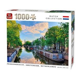"King International (55867) - ""Prinsengracht Canal Amsterdam"" - 1000 piezas"