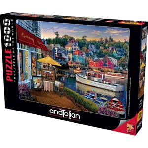 "Anatolian (1069) - David McLean: ""Harbour Gallery"" - 1000 piezas"