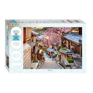 """Step Puzzle (79146) - """"Kyoto Street, Japan"""" - 1000 piezas"""
