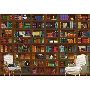 "Bluebird Puzzle (70252) - ""The Vintage Library"" - 6000 piezas"