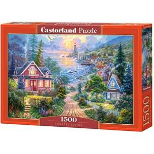 "Castorland (C-151929) - ""Coastal Living"" - 1500 piezas"