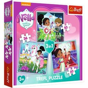 """Trefl (34835) - """"Nella"""" - 20 36 50 piezas"""