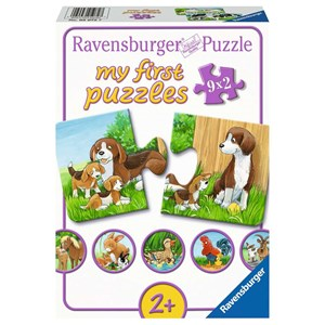 "Ravensburger (05072) - ""Animal Families on the Farm"" - 2 piezas"