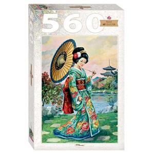 "Step Puzzle (78109) - ""Japanese Woman"" - 560 piezas"