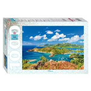"Step Puzzle (79139) - ""Shirley Heights, Antigua"" - 1000 piezas"