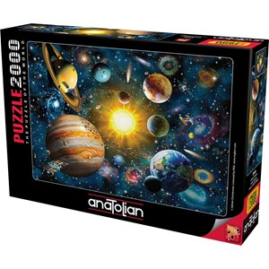 "Anatolian (3946) - Adrian Chesterman: ""Solar System"" - 2000 piezas"