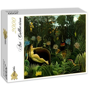 "Grafika (00851) - Henri Rousseau: ""The Dream, 1910"" - 2000 piezas"