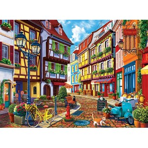 "Anatolian (3614) - Marty H. Segelbaum: ""Cobblestone Alley"" - 500 piezas"