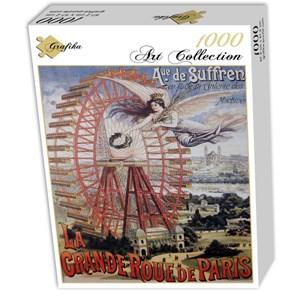 """Grafika (00622) - """"Affiche Publicitaire pour la Grande Roue de Paris, 1910"""" - 1000 piezas"""