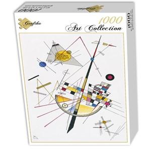 "Grafika (00632) - Vassily Kandinsky: ""Delicate Tension, 1923"" - 1000 piezas"