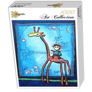 "Grafika (00668) - Anne Poire, Patrick Guallino: ""Toujours Elle"" - 1000 piezas"